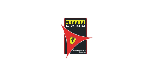 Logo Ferrari land